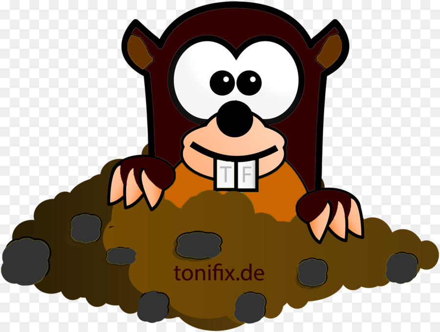 Mole Cartoon png download.