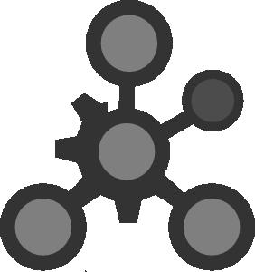 Molecule clipart.