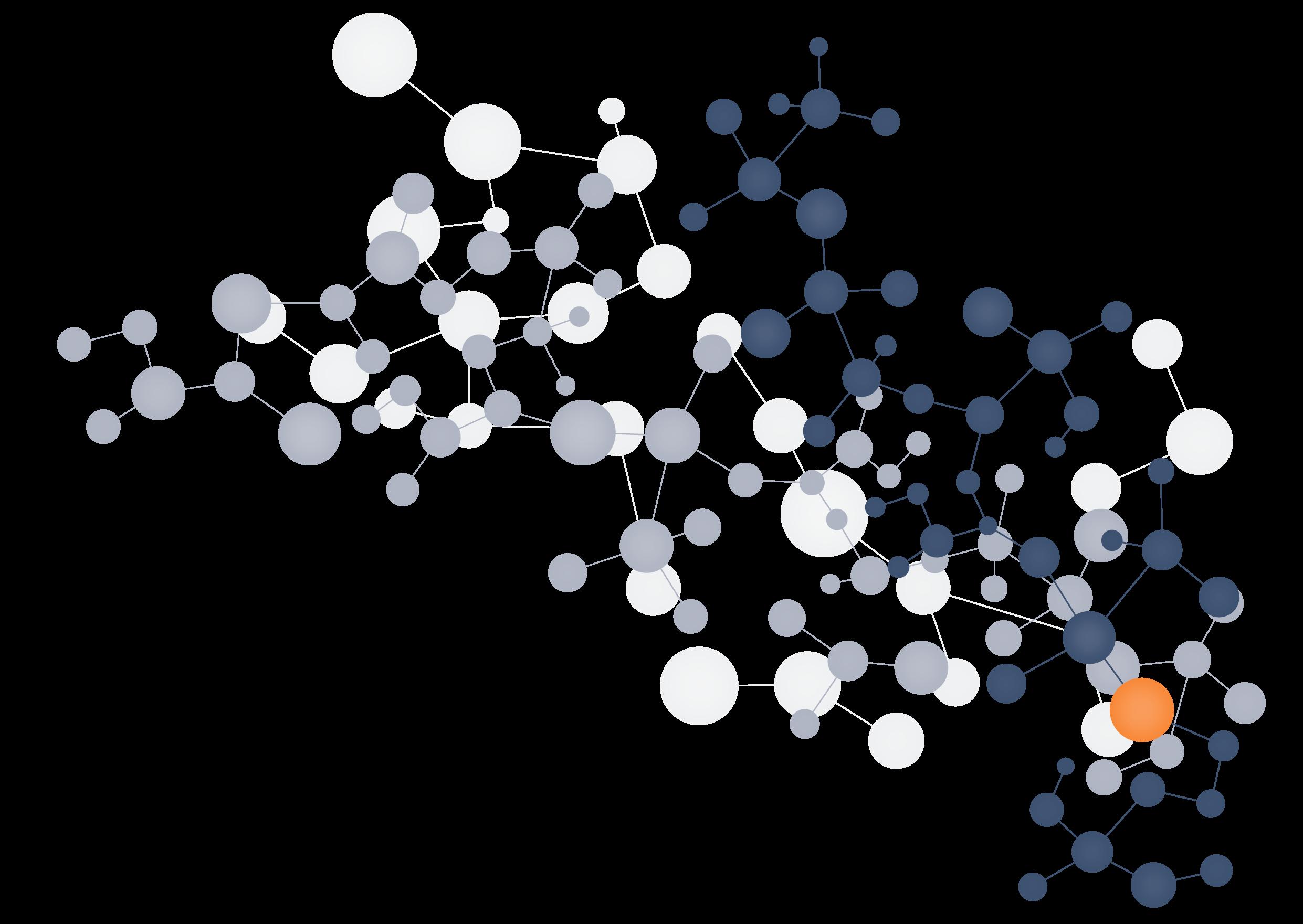 Molecule Transparent Background.