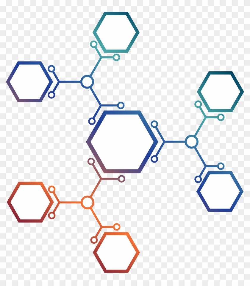 Clipart Free Library Euclidean Molecule And Hexagonal.