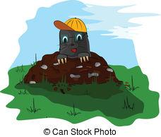 Molehill Vector Clipart Royalty Free. 31 Molehill clip art vector.