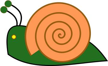 Free Snail Clipart, 1 page of Public Domain Clip Art.