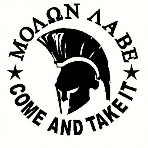 Picture For > Molon Labe Spartan.