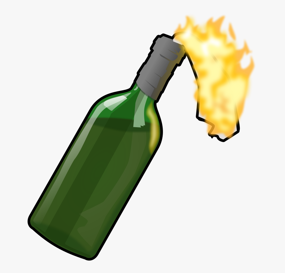 Molotov Cocktail Clipart #296141.