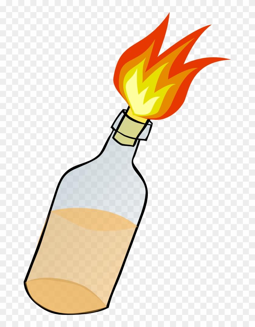 Molotov Cocktail Clip Art.