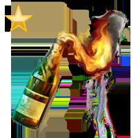 Molotov Cocktail.
