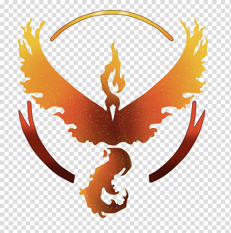 Pokémon GO Moltres Logo Decal, valor transparent background.