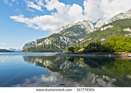 Amazing View Aynali Lake National Park Stock Photo 213268915.