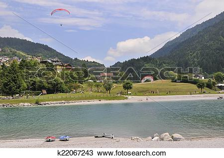 Stock Photo of Molveno landscape k22067243.
