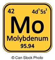 Molybdenum element periodic table Illustrations and Clipart. 42.