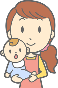 1499 free clipart mother holding baby.