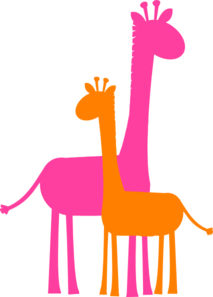 650 Baby Giraffe free clipart.