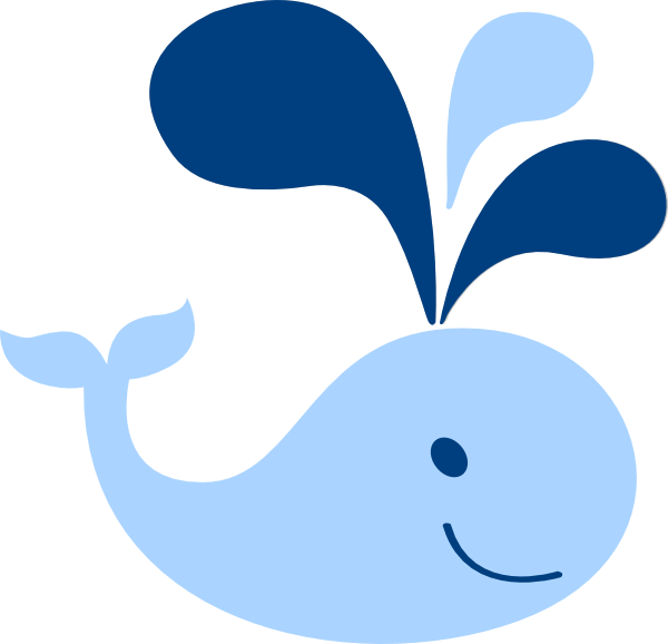 Mom and baby whale clipart free clipart images.