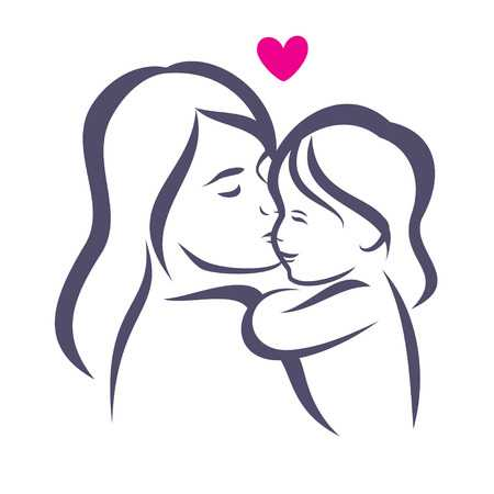 110,767 Mother And Child Cliparts, Stock Vector And Royalty.