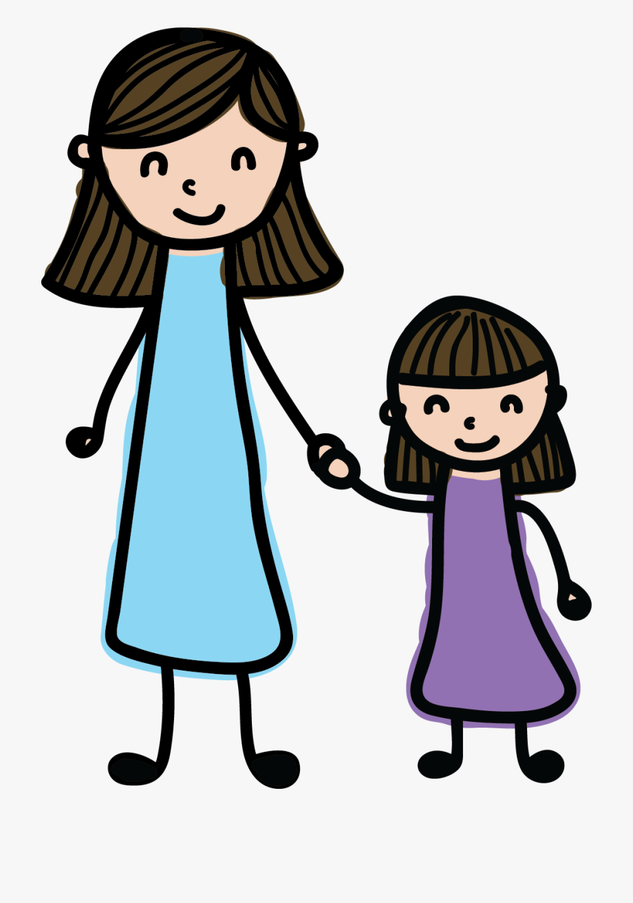 Mom And Child Clipart 1 #89053.