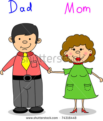 Mom and dad clipart 1 » Clipart Station.