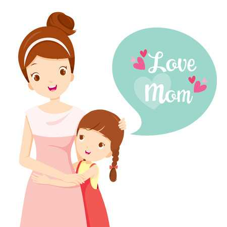 Clipart Of Mother And Daughter & Free Clip Art Images #22034.