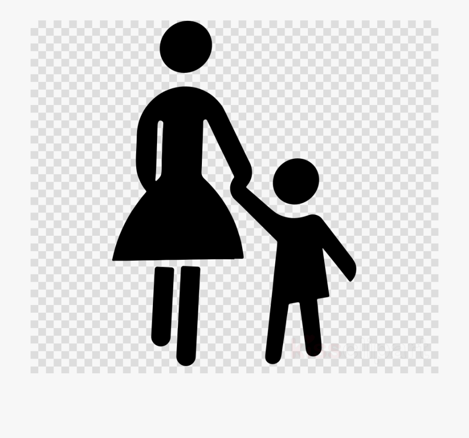 Child, Mother, Hand, Transparent Png Image & Clipart.