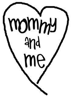 Mom and me clipart » Clipart Portal.
