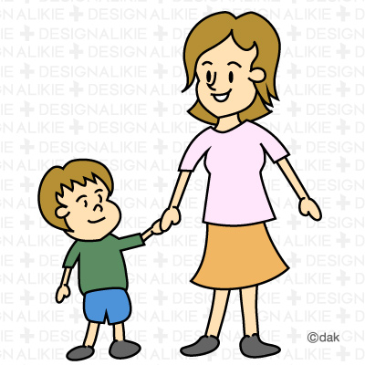 Mom And Son Clipart (25 ).