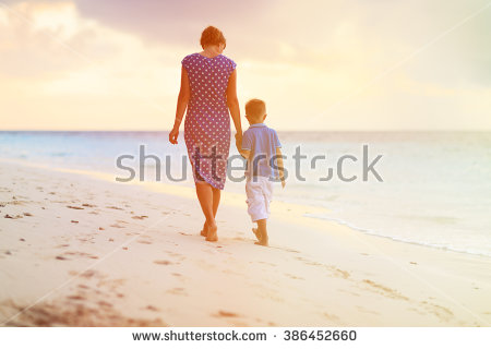 Mother And Son Stock Images, Royalty.