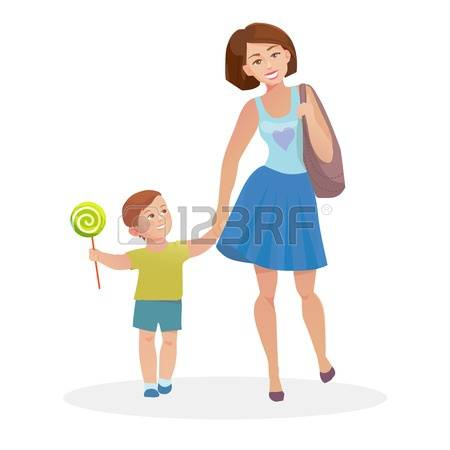 68,739 Mom And Child Cliparts, Stock Vector And Royalty Free Mom.