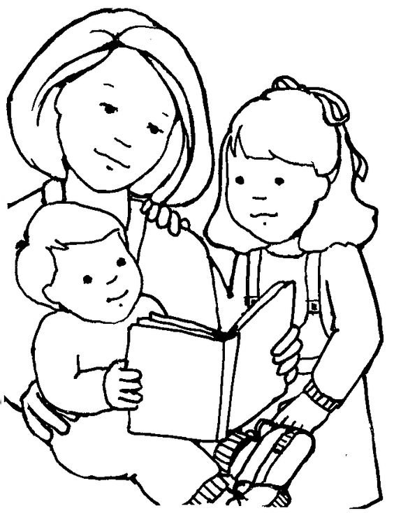 Free Mom Clipart Black And White, Download Free Clip Art.
