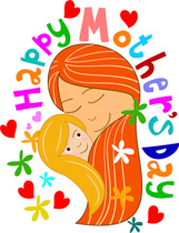 Mother Day Clipart.