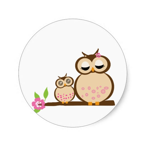 Royalty free mother dove and babies clipart.