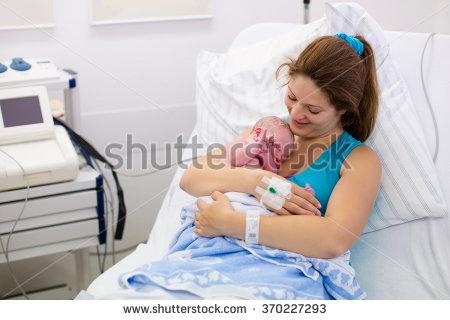 Newborn Hospital Stock Images, Royalty.