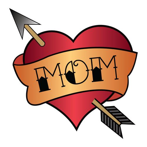Mom Heart Tattoo.