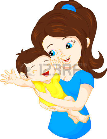 39,776 Baby Mom Stock Vector Illustration And Royalty Free Baby.