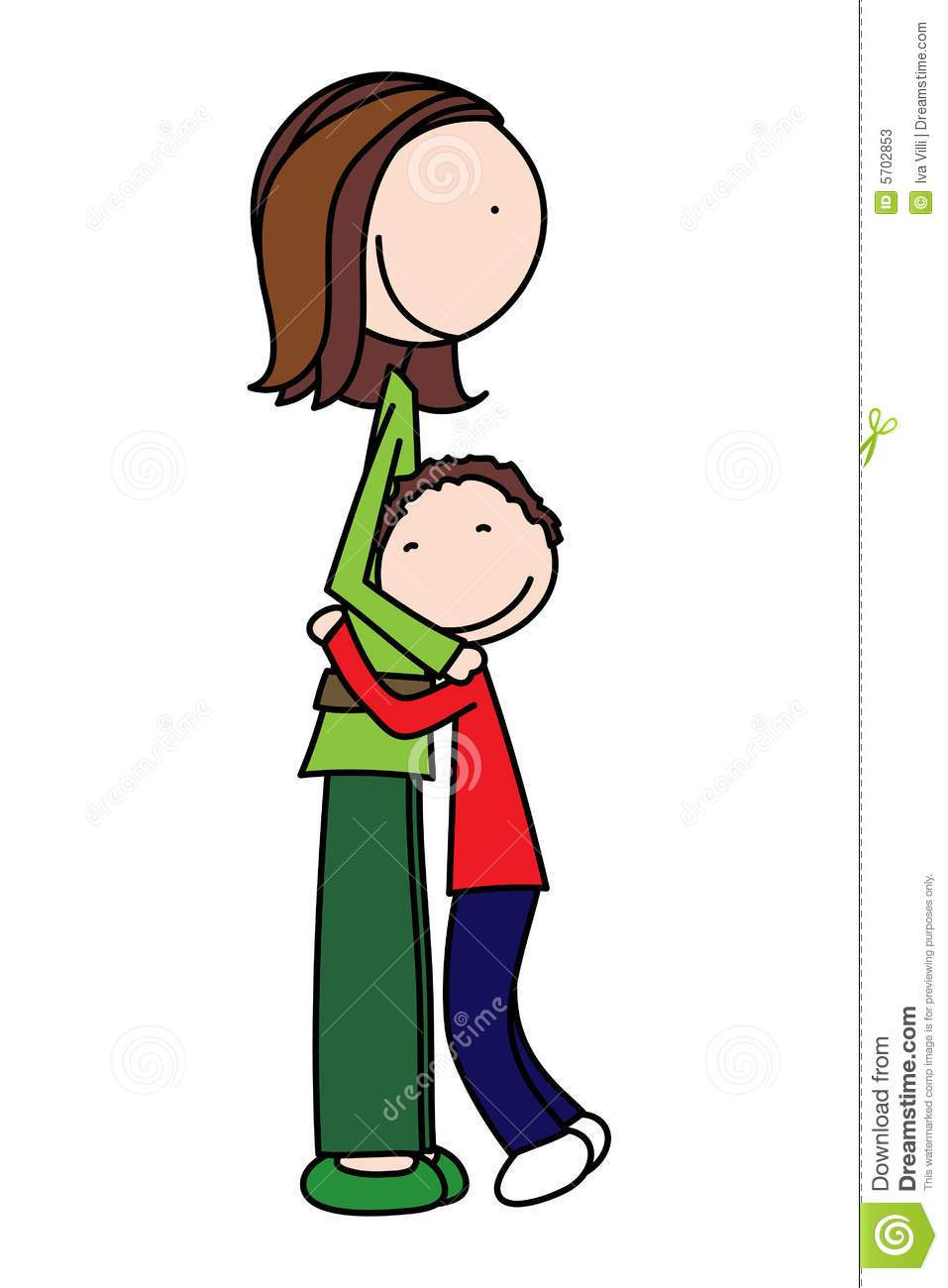 Mom hugging son clipart 1 » Clipart Portal.