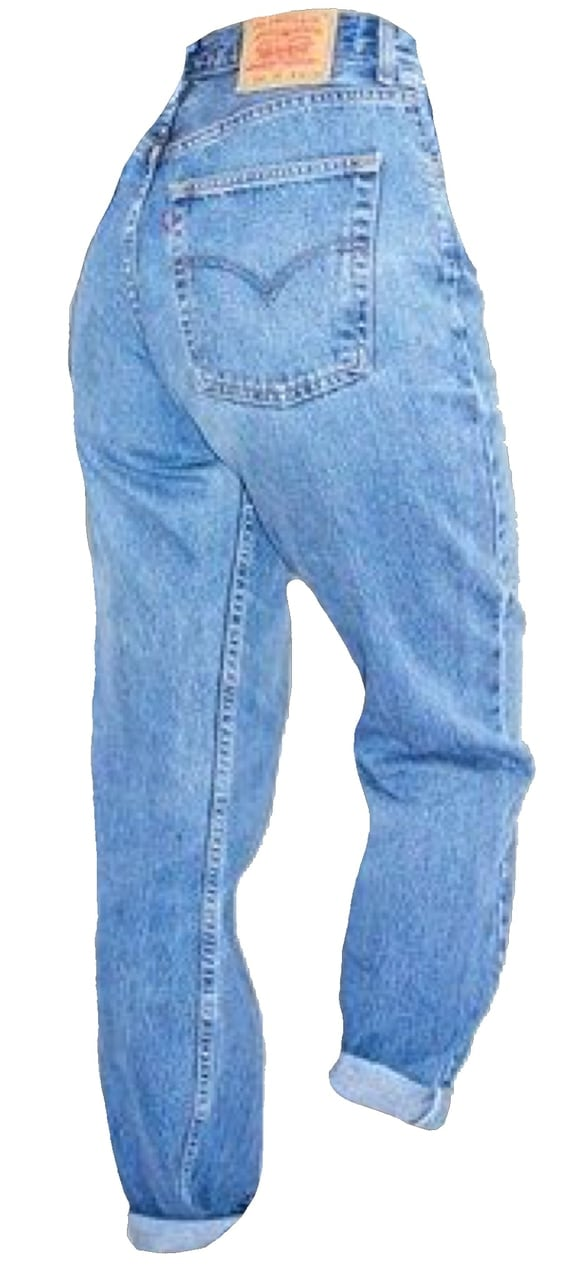 levi's mom jeans png uploaded by alyssa on We Heart It.