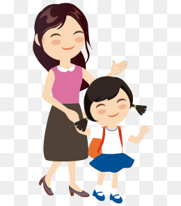 Girl And Mom PNG Transparent Girl And Mom.PNG Images..