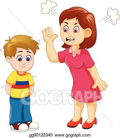 Mother scolding child clipart 5 » Clipart Portal.