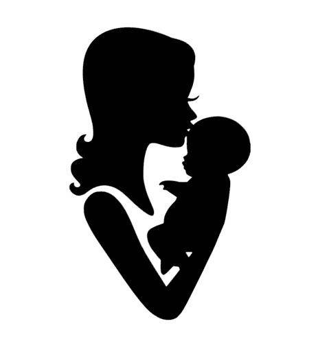 Mom And Baby Silhouette at GetDrawings.com.