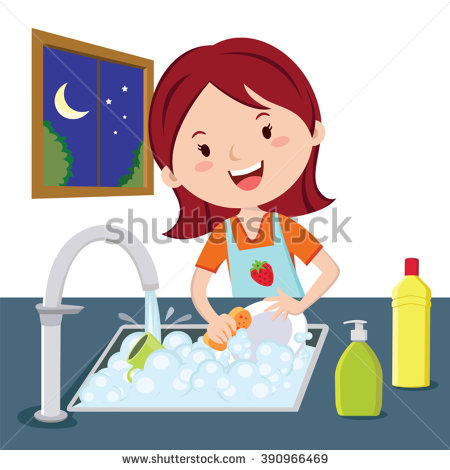 1822 Dishes free clipart.