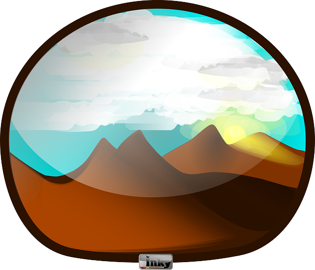 Free vector graphic: Landscape, Mountains, Sky, Clouds.