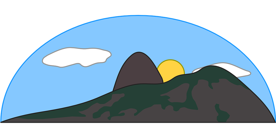 Free vector graphic: Mountain, Cloud, Hill, Nature.