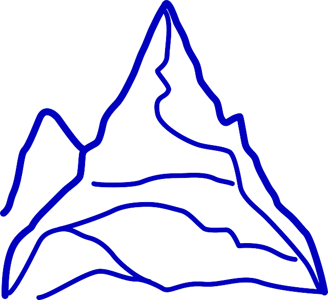 Free vector graphic: Mountain, Grand, Huge, Outline.