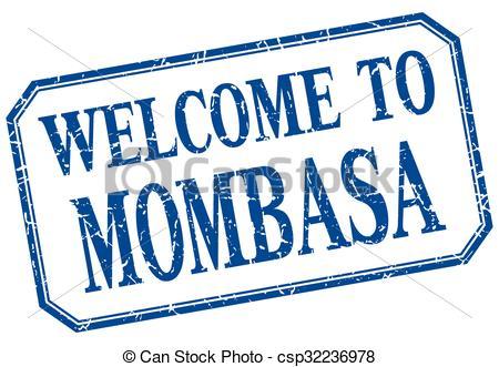 Vectors Illustration of Mombasa.