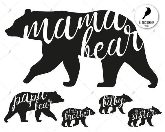 Mama bear clipart 6 » Clipart Portal.
