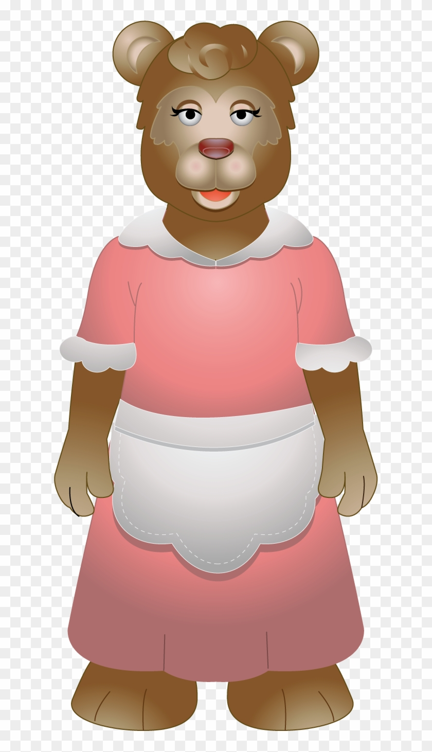 Mama Bear Clipart, HD Png Download.