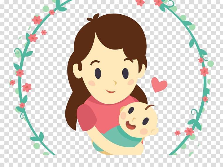 Mother Child Infant , child transparent background PNG.