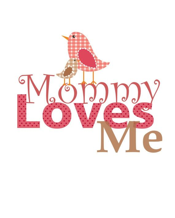 Image result for my mom loves me clipart.