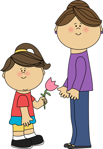 I Love My Mommy Clipart.