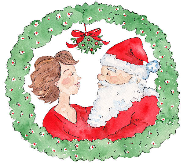 Best Santa Claus Wife Illustrations, Royalty.