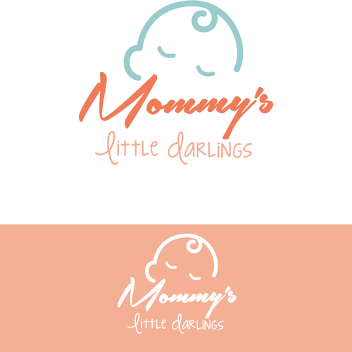Mommy\'s Little Darlings Logo Design Contest.