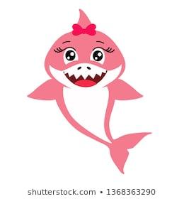 442 Baby Shark free clipart.